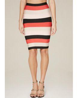 Cynthia Colorblock Skirt