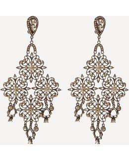 Oversize Flower Earrings