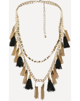 Tassel Long Necklace