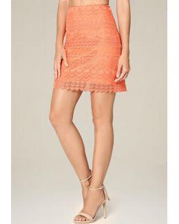 Medallion Lace Skirt