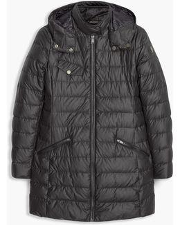 Melcombe Down Coat Woman W/fur