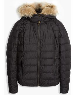 Avedon Down Jacket With Fur
