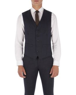 Peacoat Flannel Waistcoat