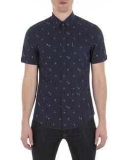 Short Sleeve Soho Print Shirt