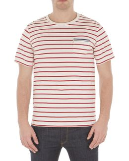 Brenton Striped Pocket Tee