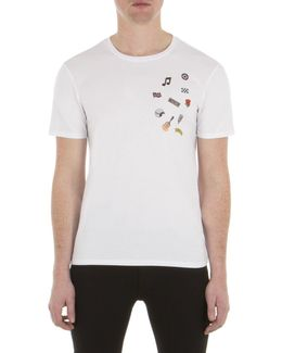 Pin Badge T-shirt