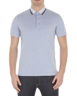 Marl Tipped Collar Polo