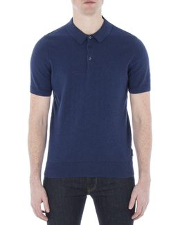 Cotton Short Sleeve Knitted Polo