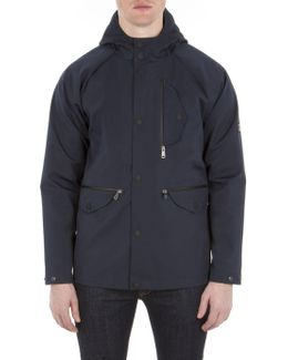 Sharp Hooded Jacket