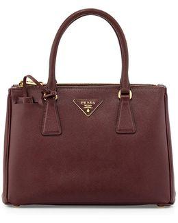 Saffiano Small Executive Leather Tote Bag
