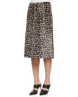 Midi L. Sahara Printed Skirt