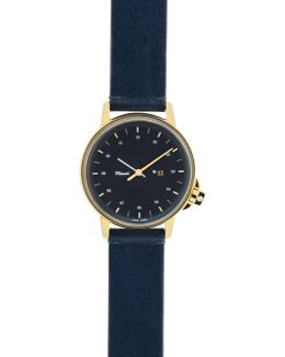 M12 Watch With Leather Strap
