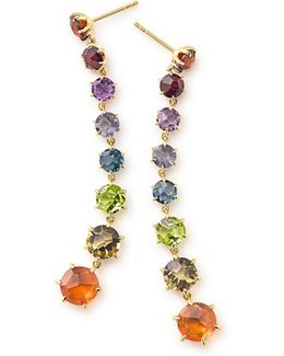 18k Rock Candy Dangle Earrings