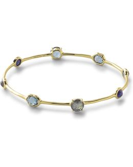 18k Rock Candy Liberty 8-stone Bangle