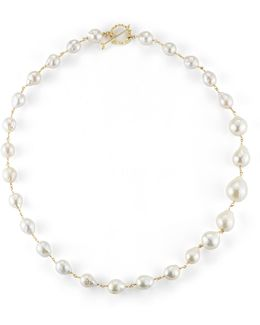 Single-strand Pearl Necklace