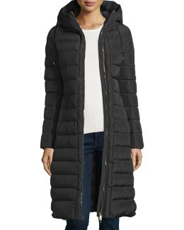 Imin Long Quilted Puffer Coat