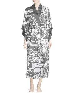 Tuvala Floral-print Robe