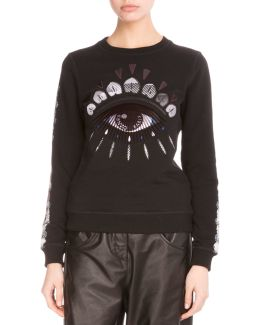 Embroidered Nagai Eye Sweatshirt