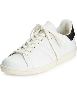 Bart Lace Up Leather Trainers