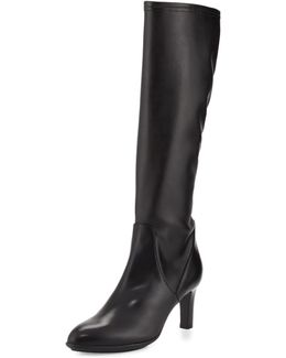 Diane Stretch-leather Knee Boot