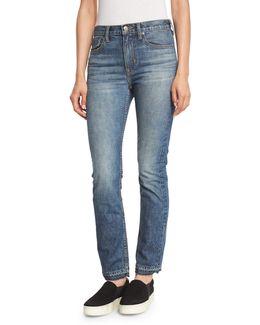 Vintage Straight-leg Jeans