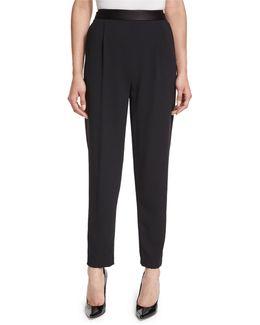 Jessie Single-pleat Trousers