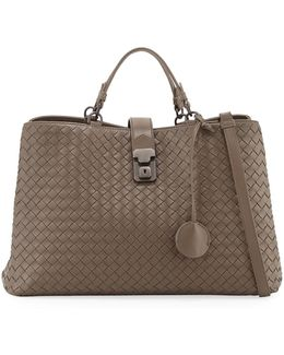 Milano Woven Leather Tote Bag