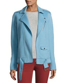 Tralsmin New Divide Oversize Moto Jacket
