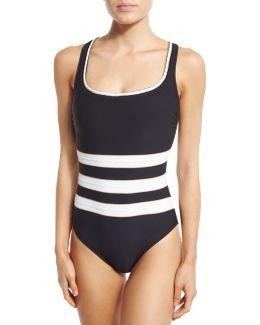 Regatta Striped One-piece Swimsuit
