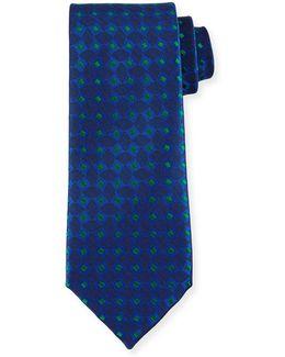 Woven Box Silk Tie