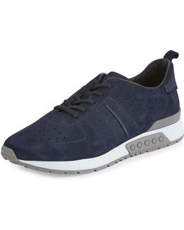 Men's Suede Trainer Sneaker