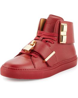 Men's 100mm Trap High-top Sneaker