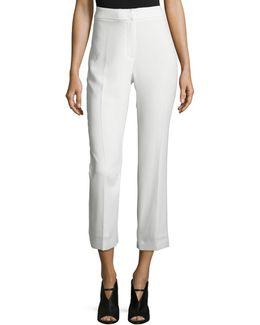 Harper High-rise Cropped Pants