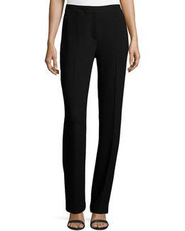 Leena Slim Stretch-knit Pants