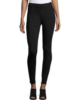 Trina Zip-pocket Skinny Pants