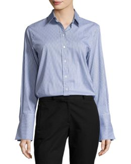 Emile Striped Button-front Shirt