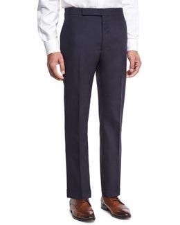 Slim-fit Fresco Wool Trousers