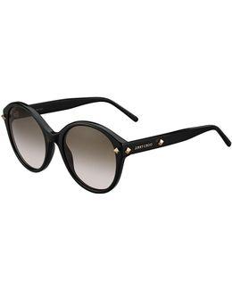 More Studded Cat-eye Sunglasses