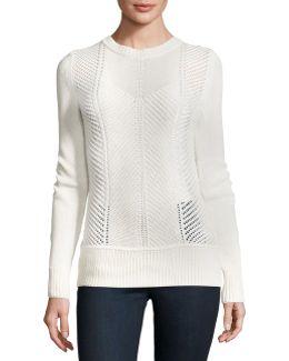 Sweetszer Silk-cotton Sweater