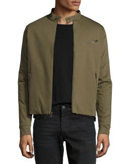 Jersey Moto Jacket