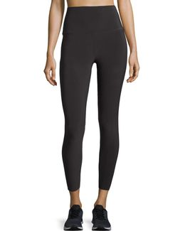 Cropped High-rise Leggings