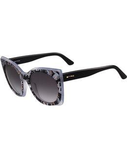 Geometric Paisley Sunglasses