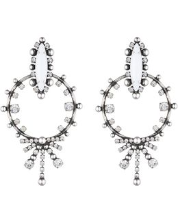 Anja Crystal Statement Earrings