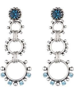 Grayson Crystal Statement Earrings