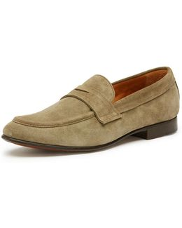 Men's Aiden Suede Penny Loafer