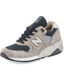 Men's 585 Bringback Suede-mesh Sneaker