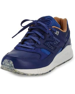 Men's Ml530 Leather Trainer Sneaker