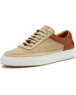 Clyde Suede & Leather Low-top Sneaker