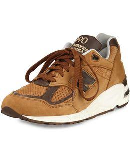 Men's 990v2 Suede & Leather Sneaker