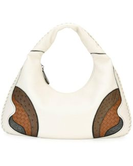 Veneta Patchwork Large Hobo Bag